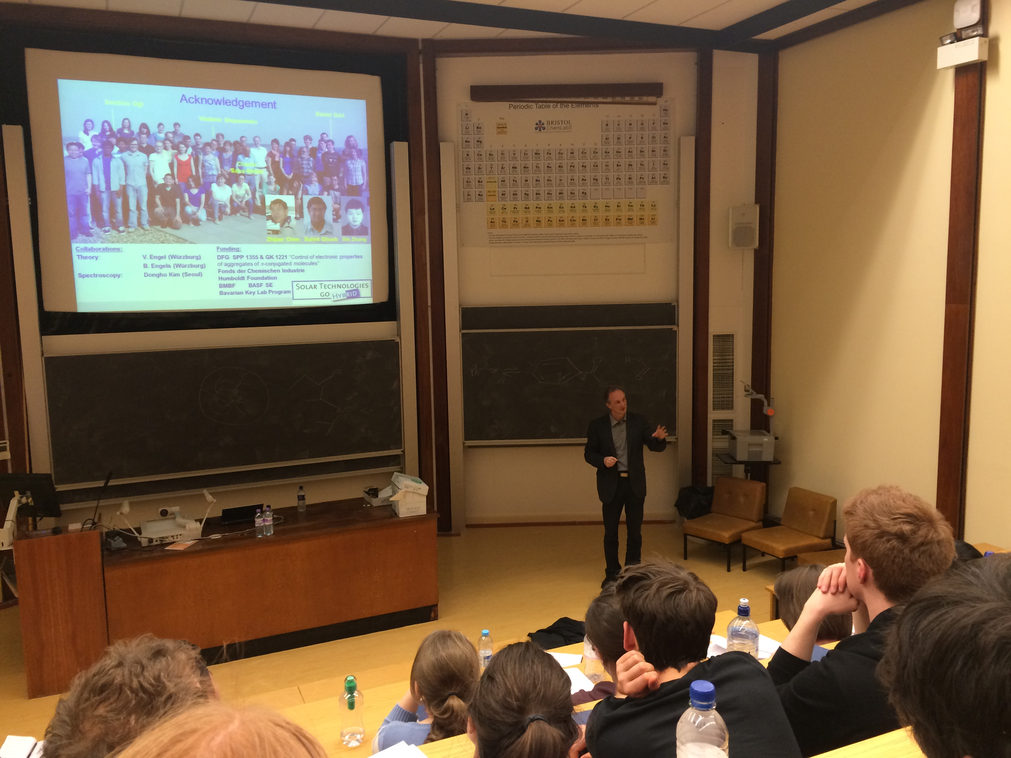 faul research group his lecture was preceded by a series of excellent talks by bristol postgraduate researchers on topics from nanoparticle assembly at interfaces to the